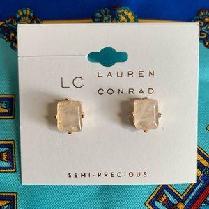 Lauren Conrad Semi-Precious Rose Studs